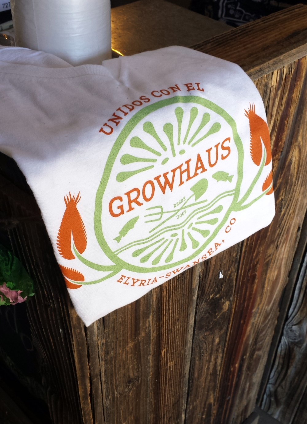 The GrowHaus, an urban greenhouse in Denver