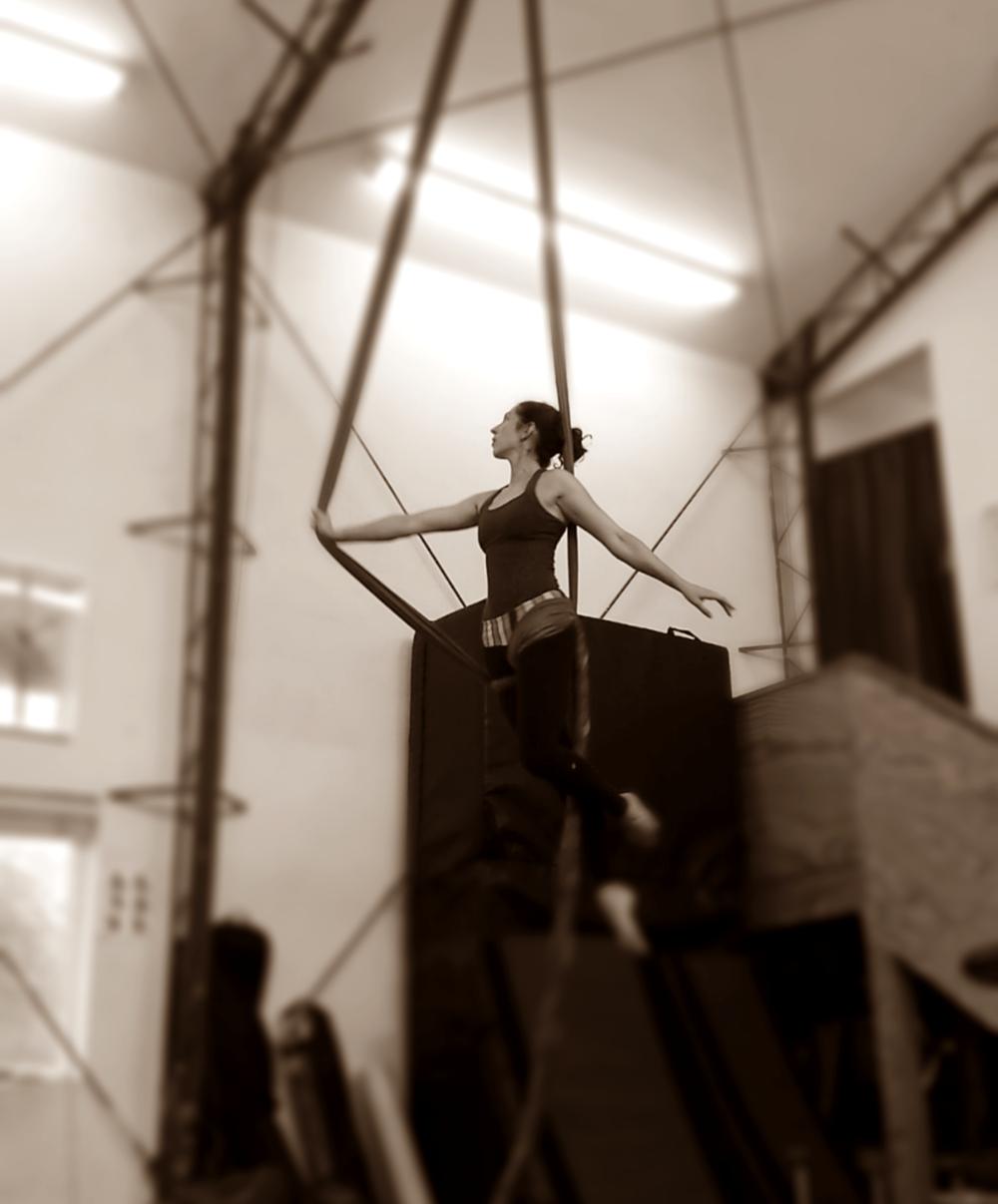 aerial silks acrobatics circus arts los angeles