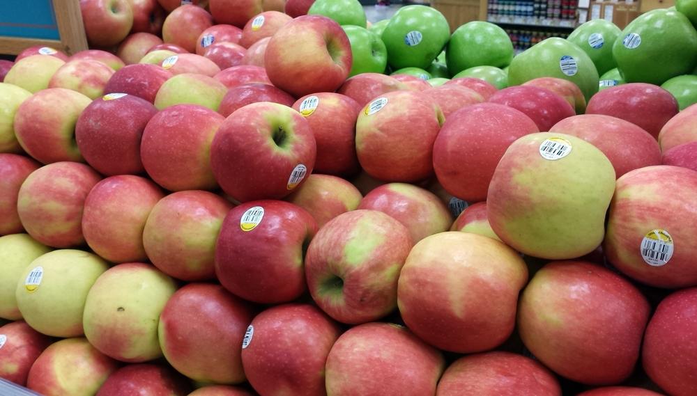 Organic apples in los angeles