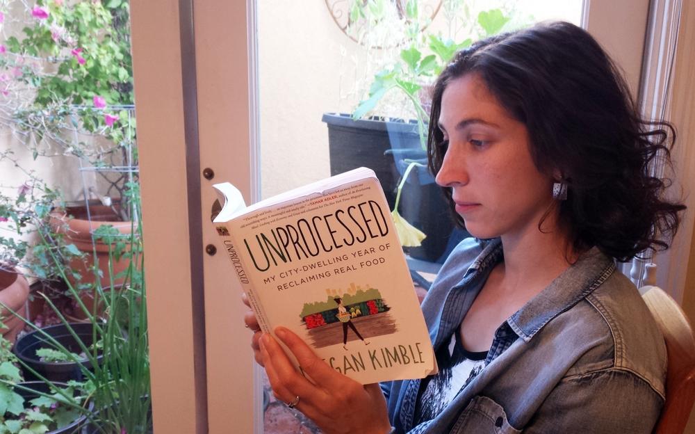 reading unprocssed book