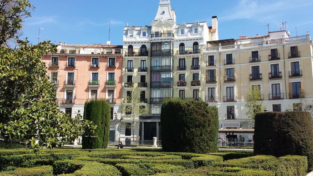 Basically every building in Madrid is older than any building in Australia and New Zealand.