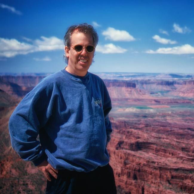 1997 - On the 'Top of the World' just outside Moab, UT