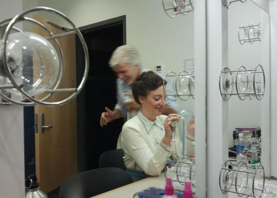 backstage, Pride and Prejudice, Colorado New Opera Workshop