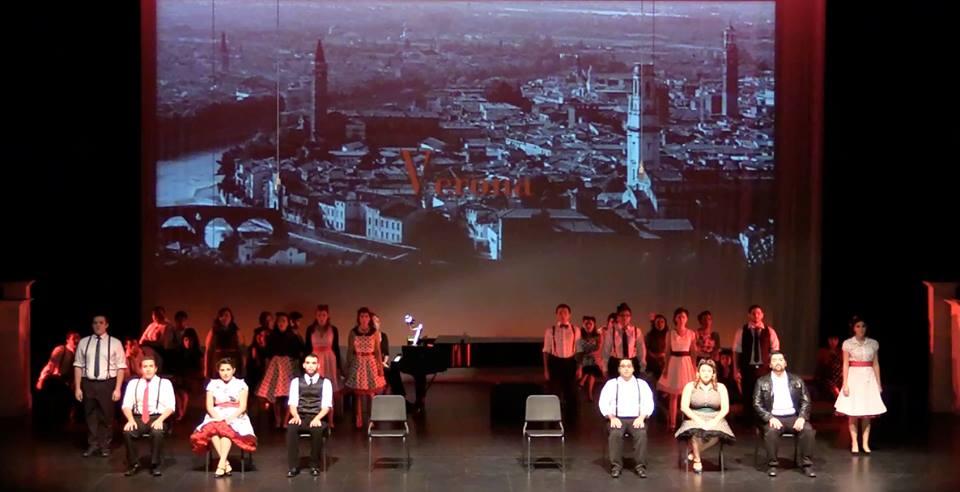 Romeo and Juliette scenes program, 2014