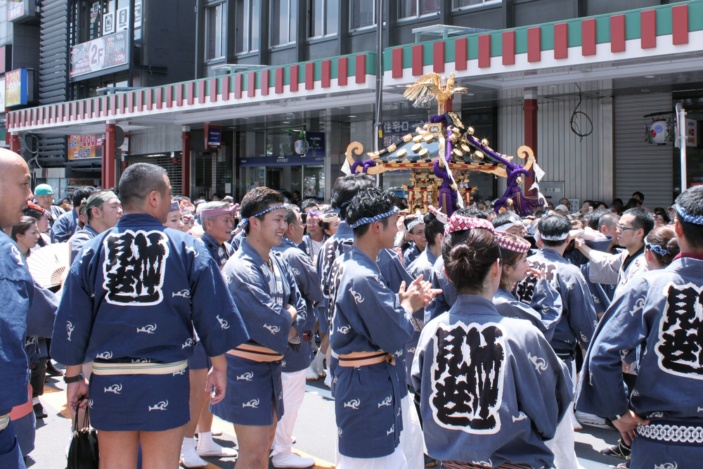 Mikoshi at Sanja Matsuri'15