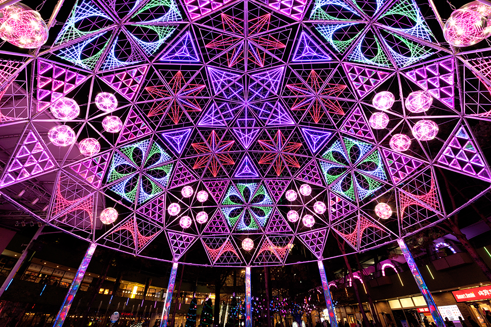 Tokyo Dome City Winter Illumination. Photo by Taichiro Ueki.