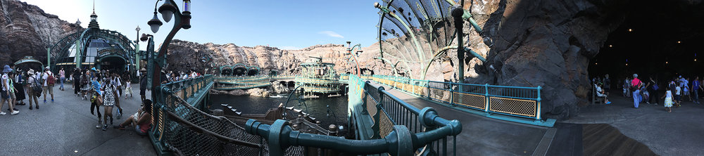 Click to view the Mysterious Island panoramic shot.