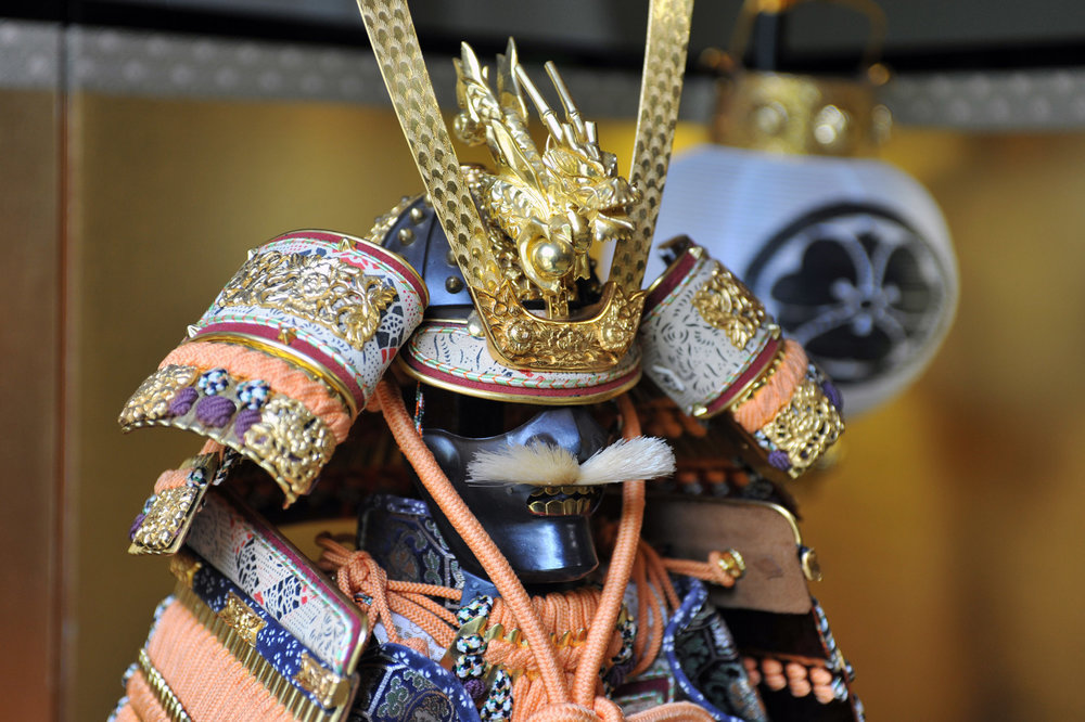 Japanese traditional full armor