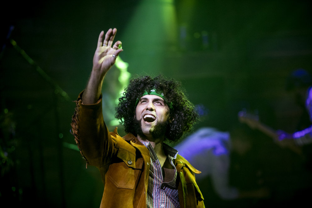 Michael Viruet in RED ROSES, GREEN GOLD at the Minetta Lane Theatre - photo by Chad Batka.jpg