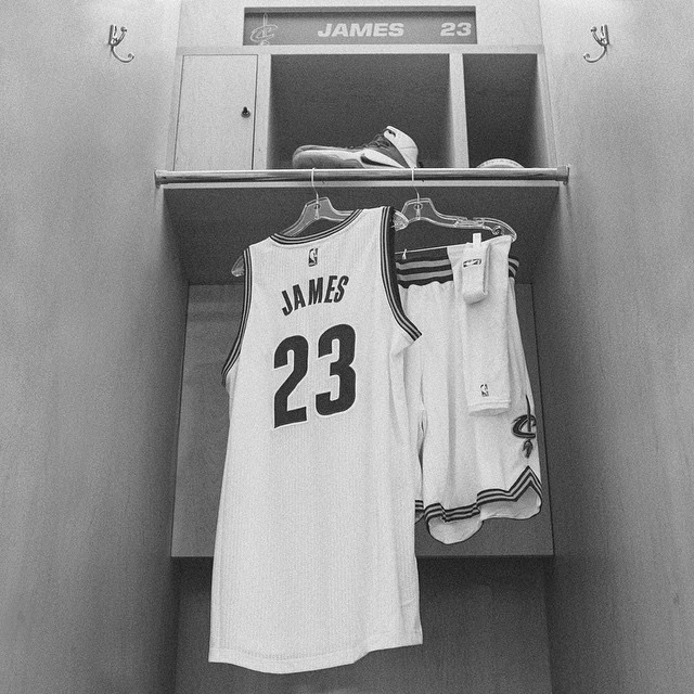 12s on his feet. 23 on his back. Home in his heart. #justdoit