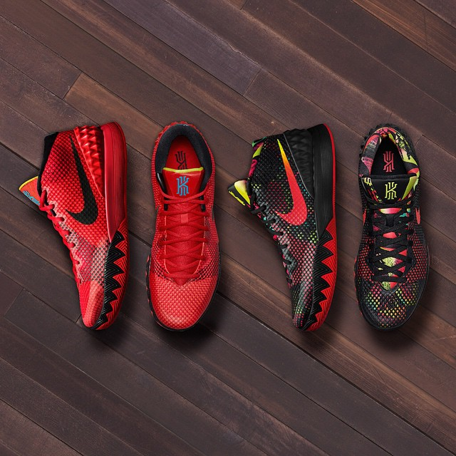 Welcome to the family.  #KYRIE1