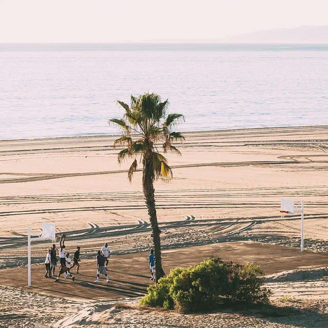 The beach can wait.  #ALLFORTHEGAME