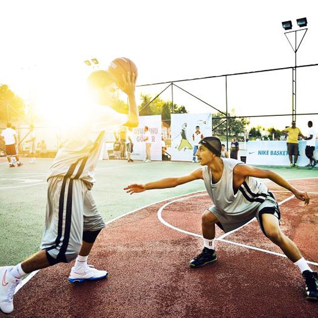 If you need to find shade, get into the lane.  Tell us which court you call your kingdom with  #ALLFORTHEGAME .