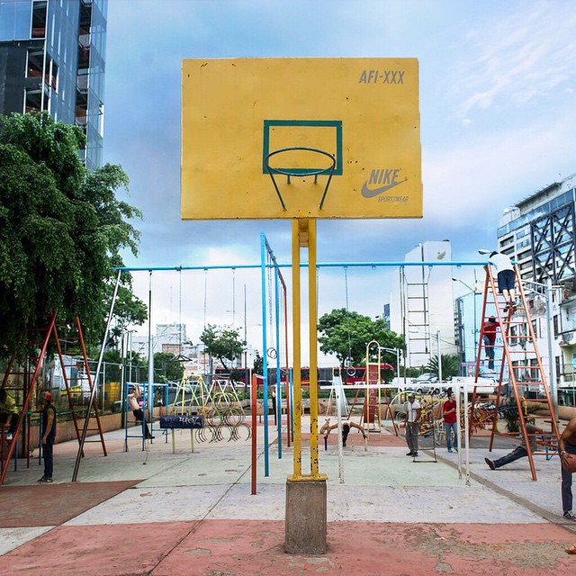 You can make a splash from dry land.  #ALLFORTHEGAME