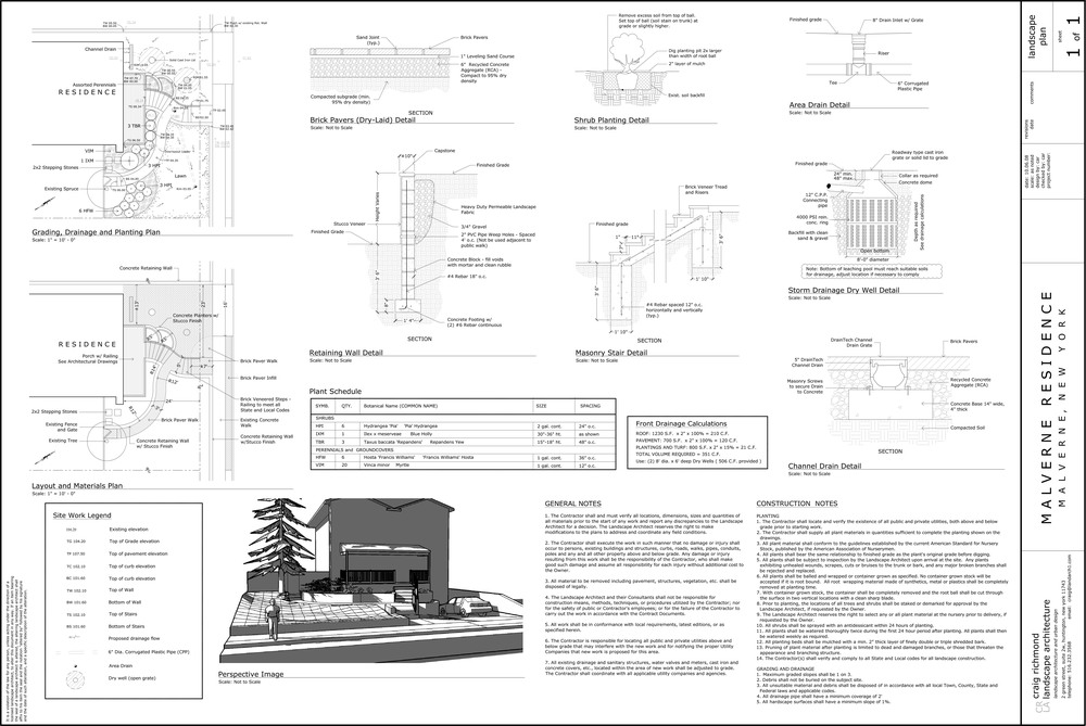 Site Plan Approval Drawing