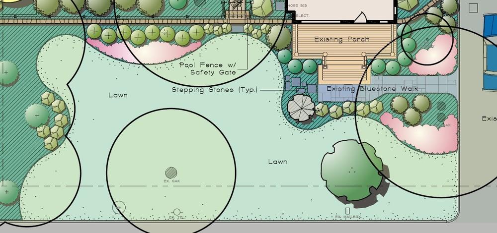 Front Landscape Concept