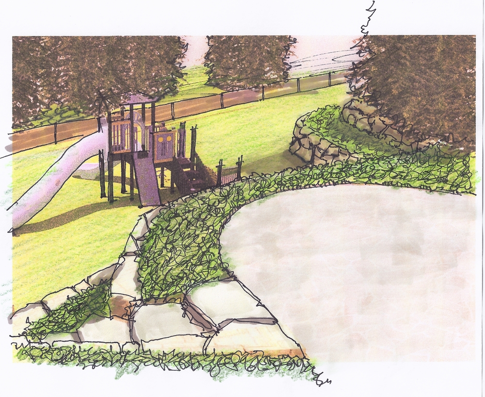 Manhasset Play Area Concept - Render 1