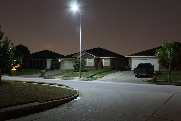 residential street lighting