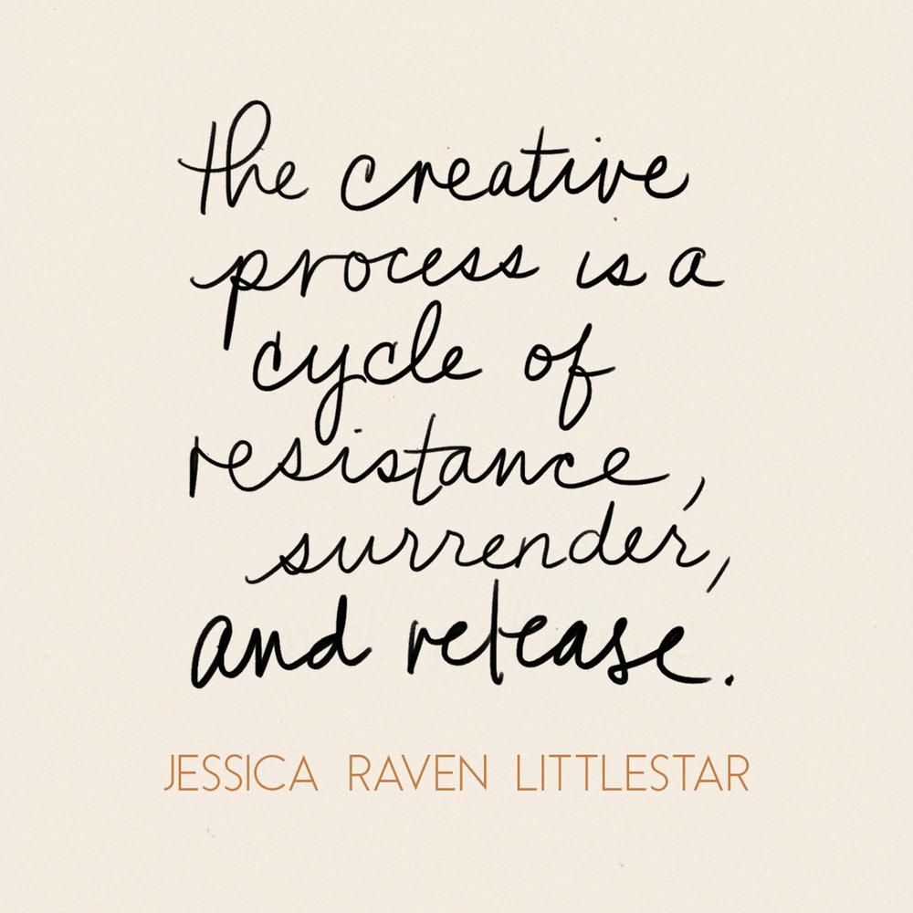 The-Creative-Process-Jessica-Raven-Littlestar