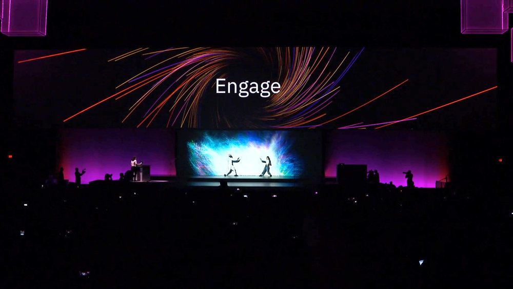 "IBM Amplify - 'Cognitive in Motion"" - Opening Experience"