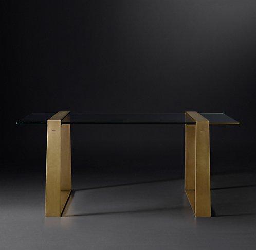 rh modern lucida desk