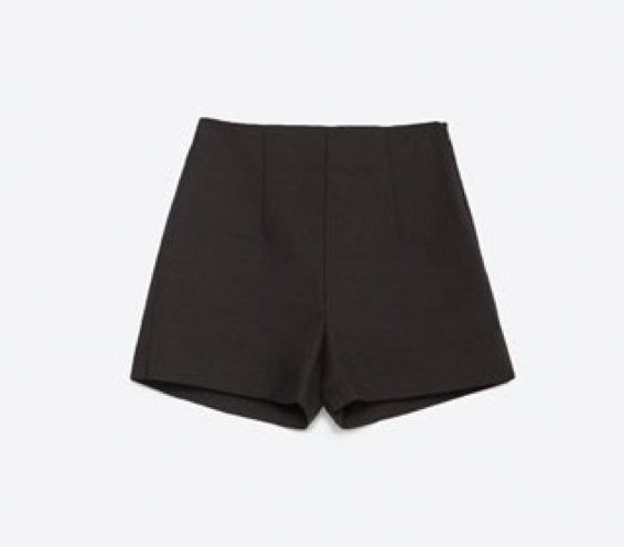 BERMUDA SHORTS WITH SIDE VENTS