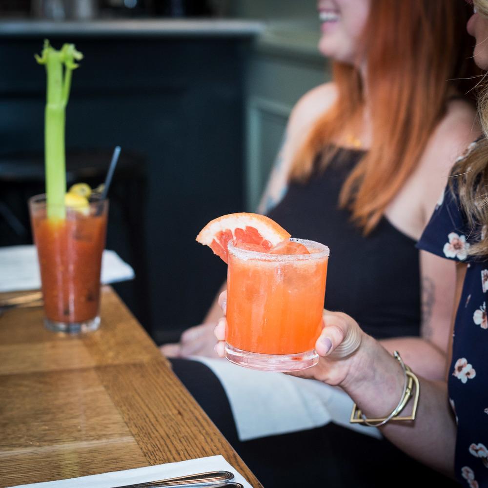 Bloody Mary + Dos Gardenias Cocktail