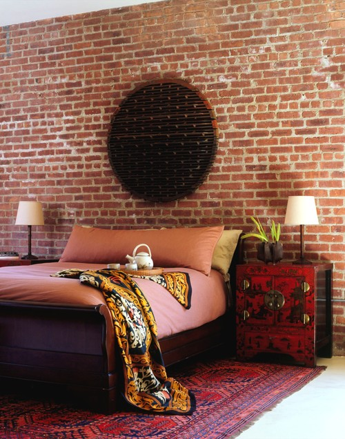 Brick wallpaper - looks like the real thing. Image Source: wowwallpaperhanging.com.au