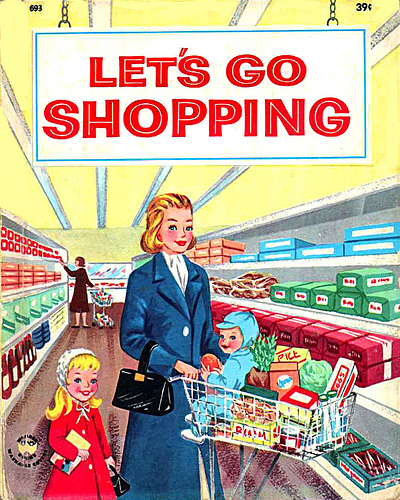 What shopping with kids never NEVER looks like. Image source: planningwithkids.com