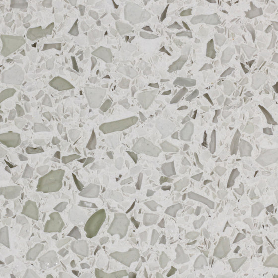 Terrazzo Style Reconstituted Stone. Not Caesarstone. Image Source - Stoneconcept.com.au