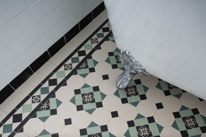 Tessalted tiles. A classic. Indoor and out. Image Source - oldeenglishtiles.com.au