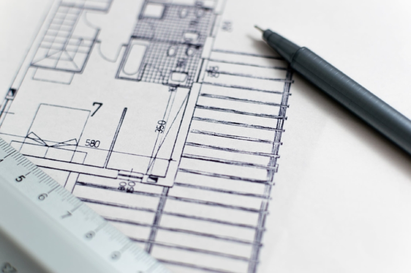 Plans of the home for the future. Its easy to get carried away. Image Source - pexels.com