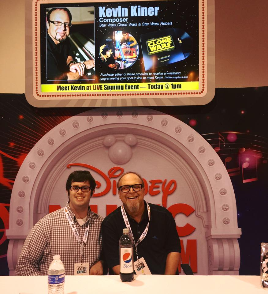 D23 - Signing with Kevin Kiner