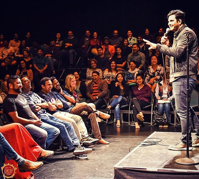 Abhay Nadkarni on the benefits of being in your thirties! #desicomedyfest  #mountainview #bayareacomedy