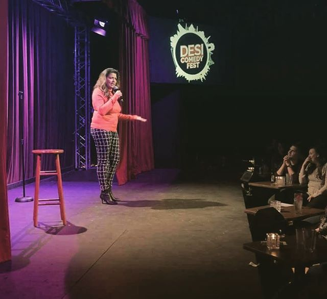 Mona Shaikh @ Desi Comedy Fest Portland Edition