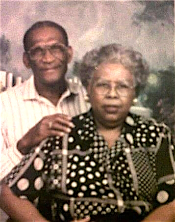 Otha and Nancy Butler, my grandparents. They were married for more than 60 years and had 12 children together.