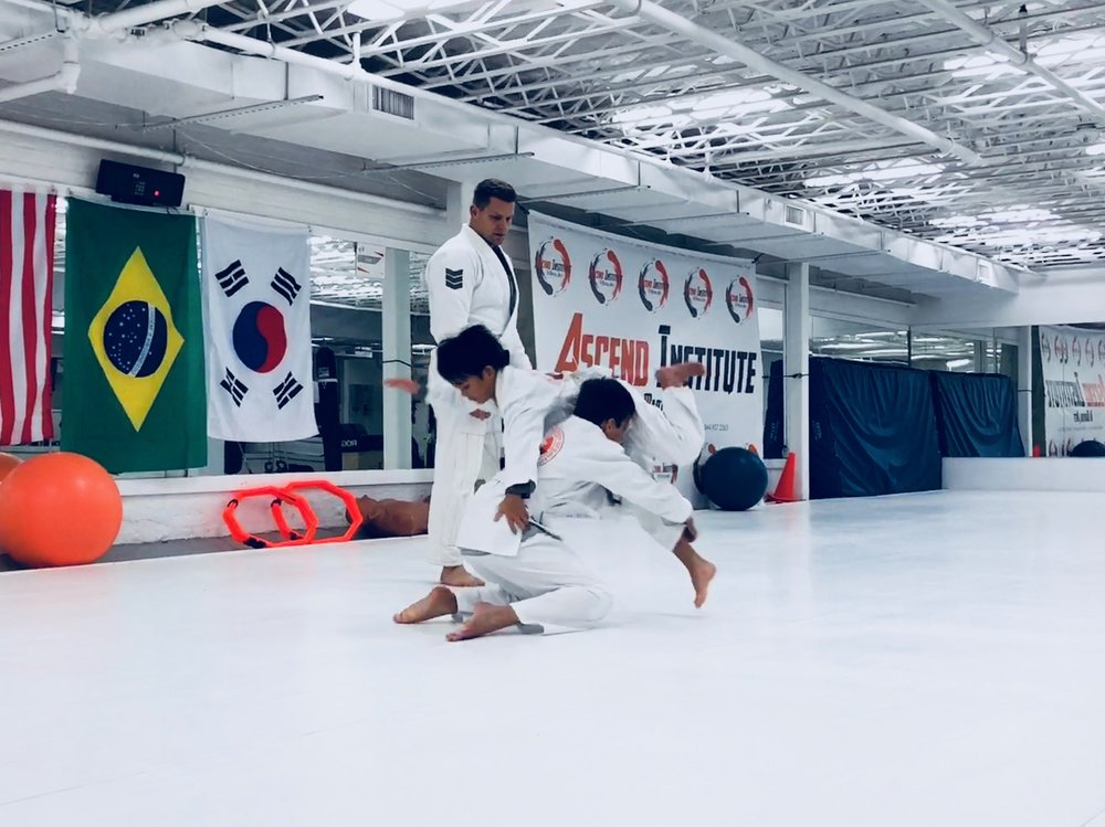 Get your child involved in learning self-defense, discipline and teamwork! - At Ascend Institute of Martial Arts, your child will learn a complete self-defense system that will give your child a degree of self-confidence.
