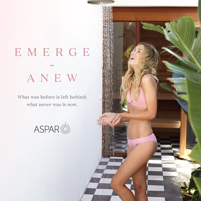 Aspar summer campaign with the lovely @lidija_julija @auroraspas #emergeanew #aspar #sparange #collection #coconutandlime ☀️💦