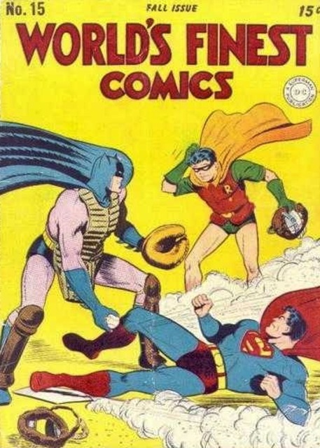 World's Finest issue 15 from 1944. (C) 2016 DC Comics.