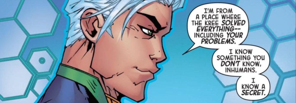 Would you trust Noh-Varr? From Royals 1 by Al Ewing and Johnboy Meyers.(C) Marvel Comics.