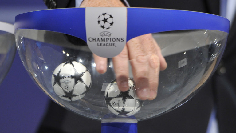 Hot balls. The UEFA Champions League draw happened this week in Monaco.