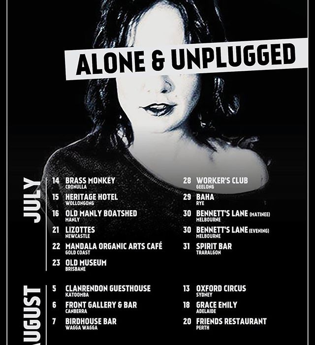 Not only is she one of Oz's best songwriters and live acts, but she's a totally rad chick too! We ❤️ @sarahmcleod1. Get up close & intimate on the ALONE & UNPLUGGED tour this July & August. Tickets on her Facebook page! #shewhorocks #sarahmcleod