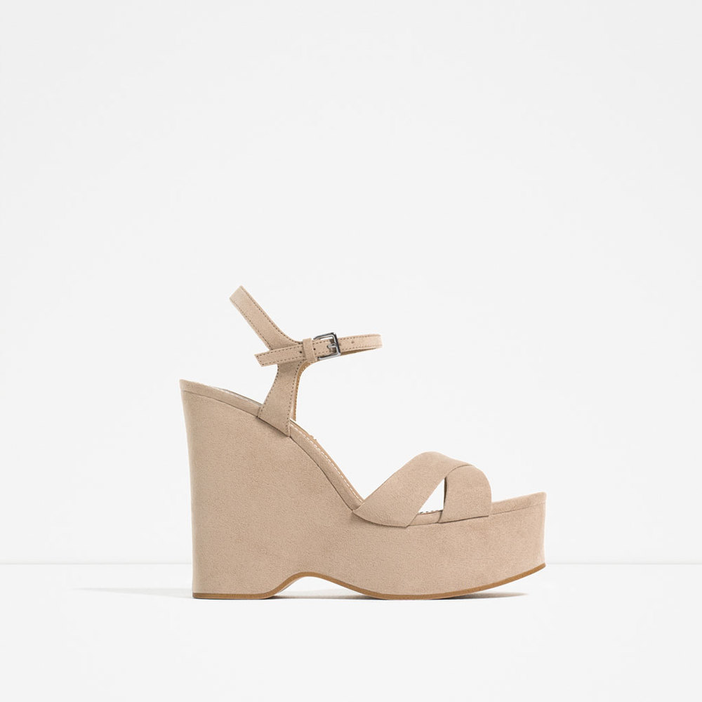 WEDGES WITH ANKLE STRAP 49.90 USD