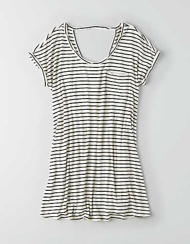 AEO SOFT & SEXY STRIPED T-SHIRT DRESS $34.95