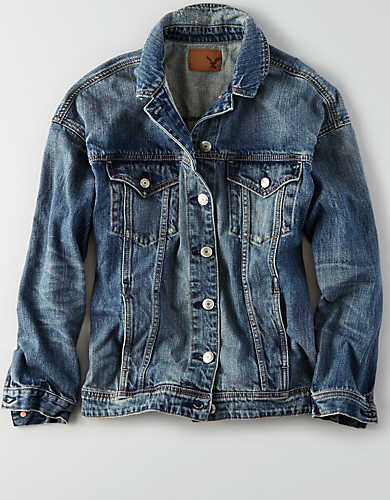 AEO DENIM BOYFRIEND JACKET $59.95