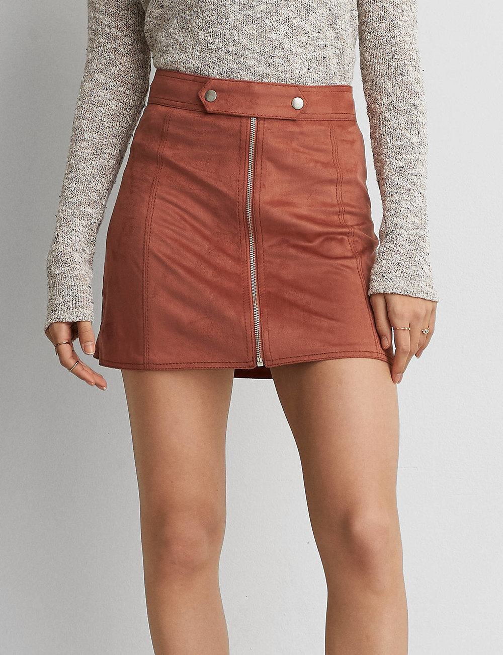 AEO FAUX SUEDE MINI SKIRT $39.95