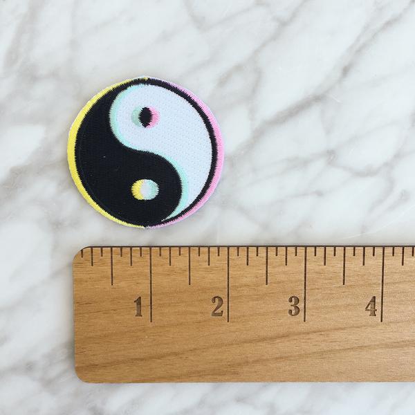 Yin Yang Patch $4.00