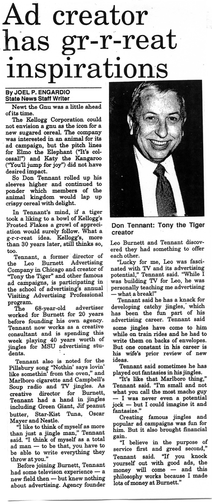 The State News May 15, 1991 (Michigan State University)