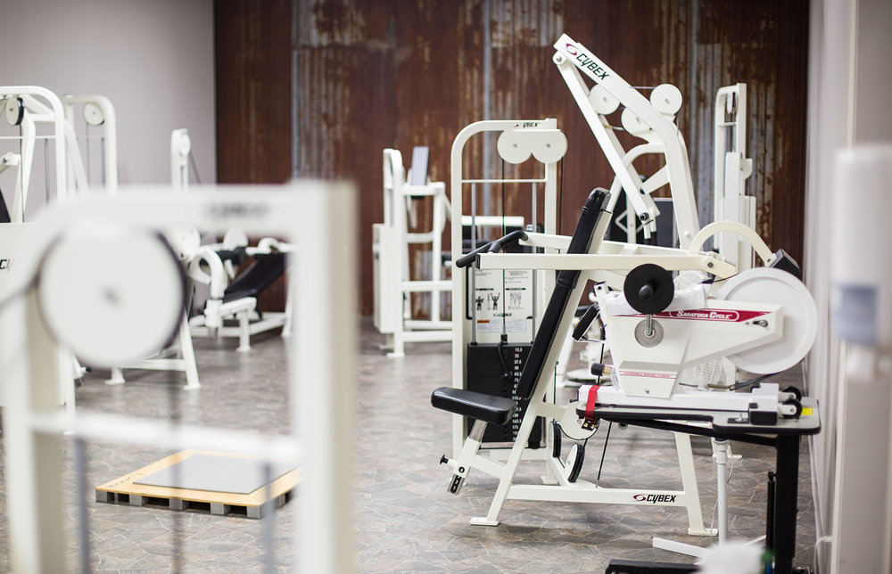 One of our workout rooms to help you reach your goals!