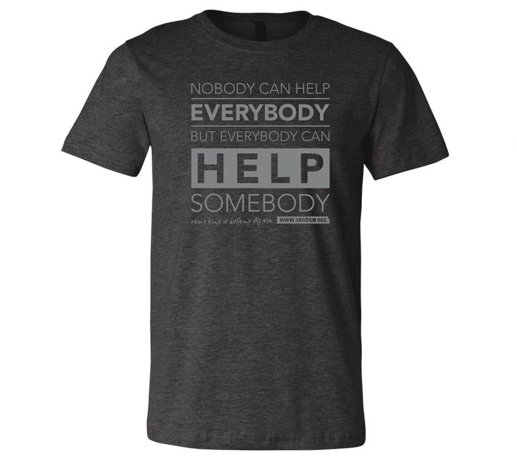KC PROUD HELP SOMEONE T-SHIRT    $20